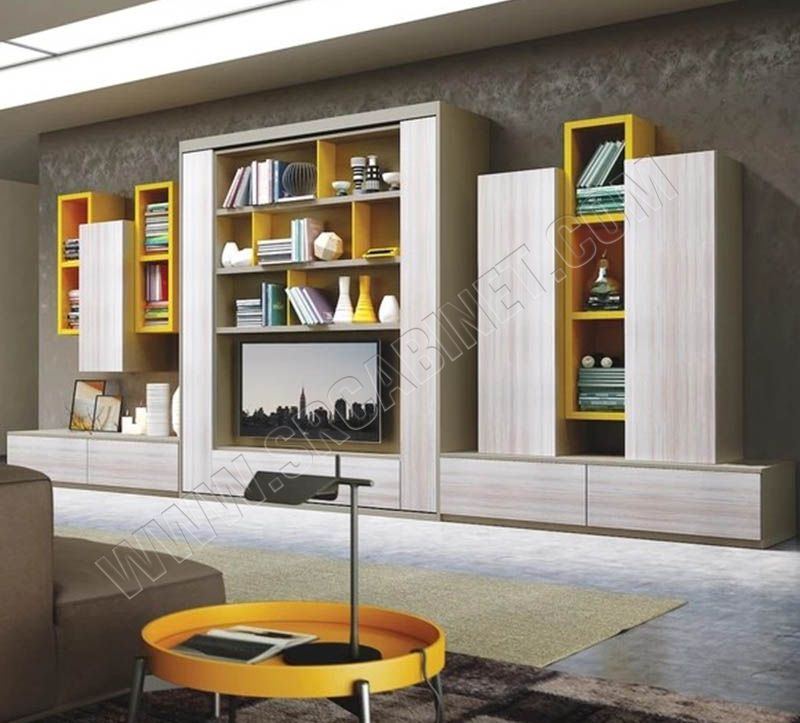 Custom designed multifunction wall bed rotating murphy bed