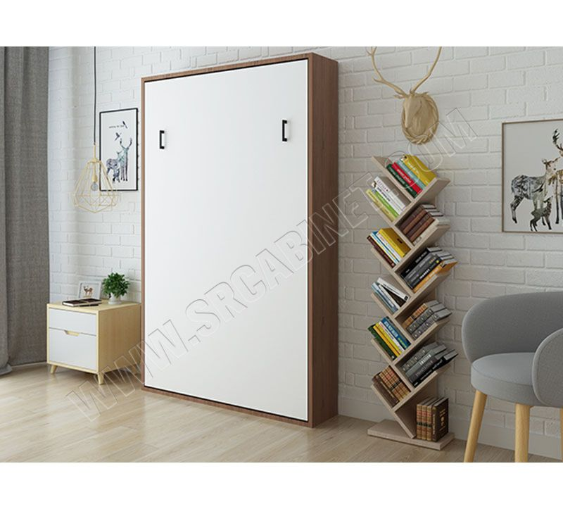 Optional sizes apartment folding Modern Wall Mounted Bed