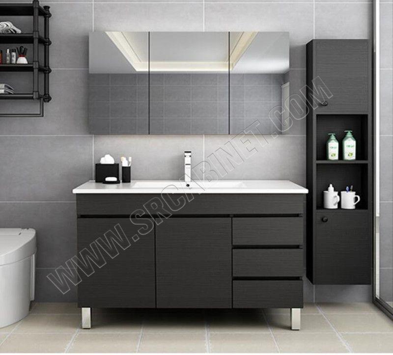 European modern style bathroom Vanity / Double Sink Bathroom Cabinets