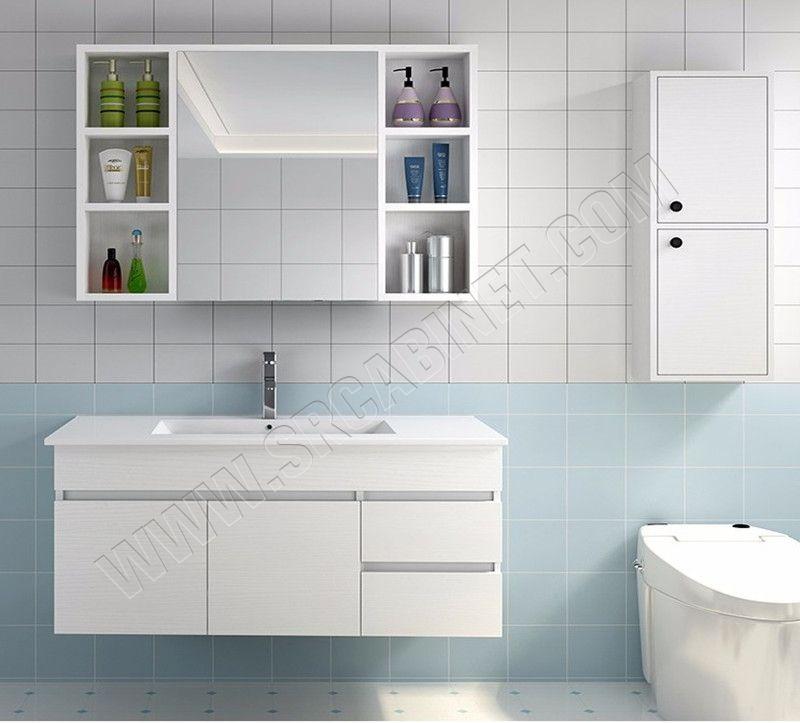 Wholesale wall mounted hotel bathroom vanity home bathroom vanity
