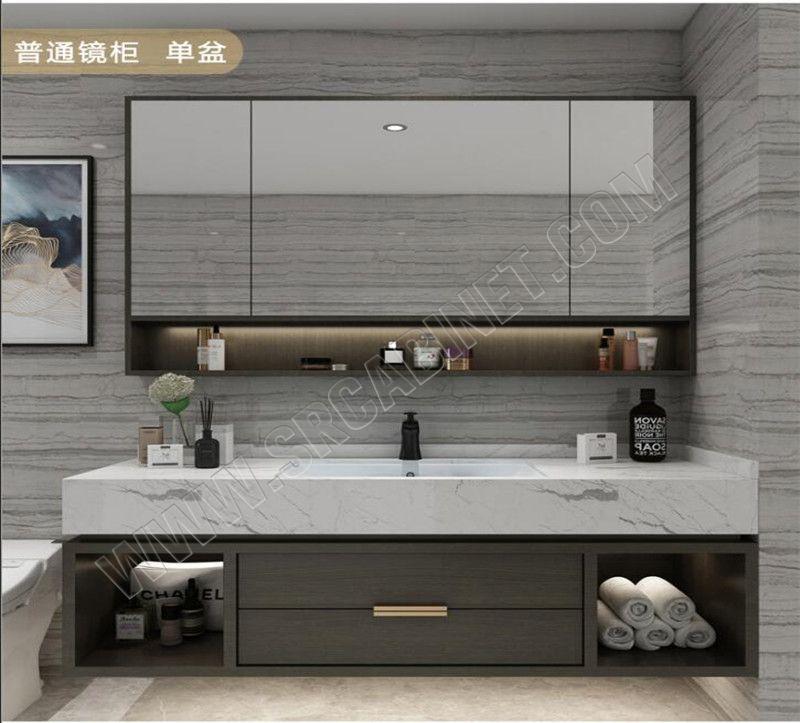 Wholesale Bathroom Vanities Modular Bathroom Furniture PVC  Bathroom Cabinet