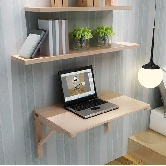 Wall mounted laptop desk foldable computer table folding table