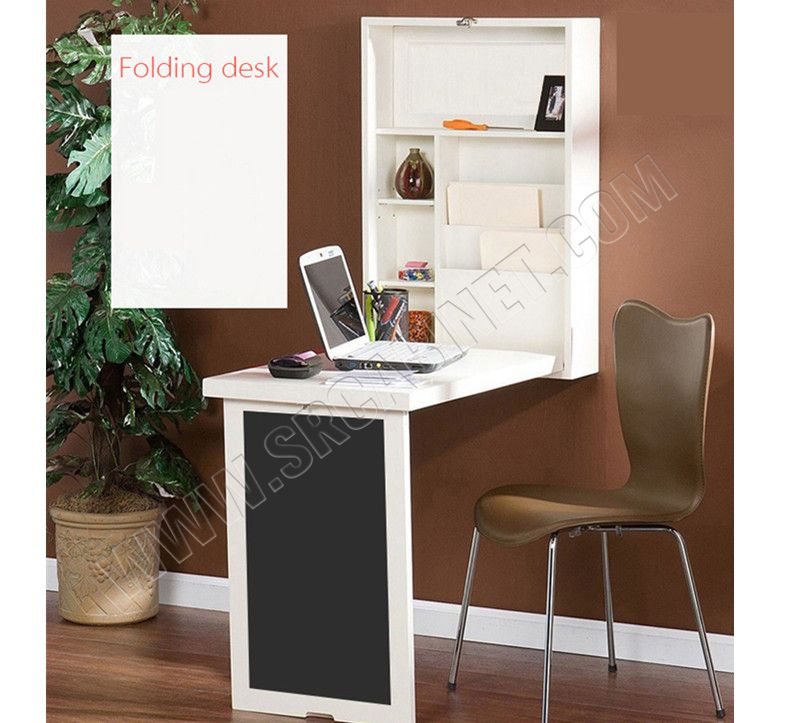 Factory price Useful cabinet smart furniture with folding table use